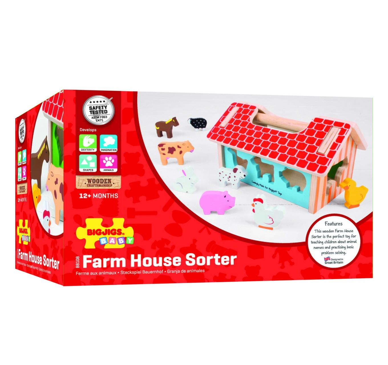 Farmhouse Shape Sorter