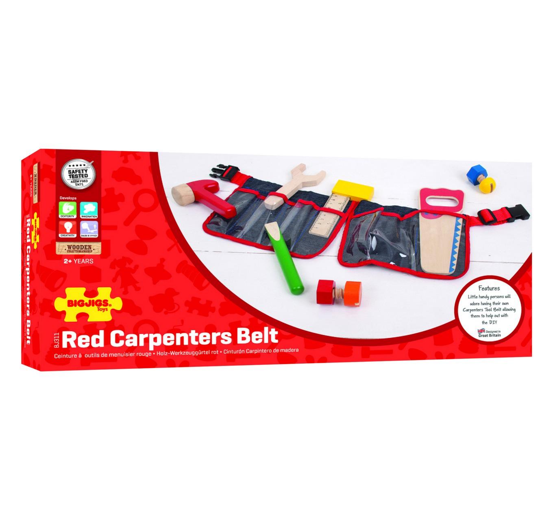 Carpenter's Belt - Red