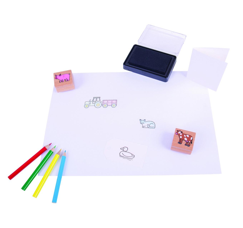 Stamp & Colour Kit - Farm