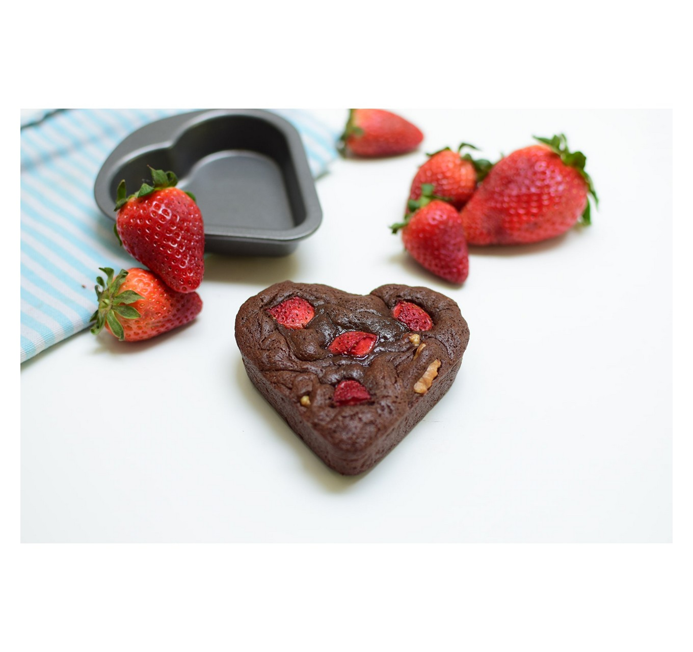 Mini Heart Cake Pan 2pk