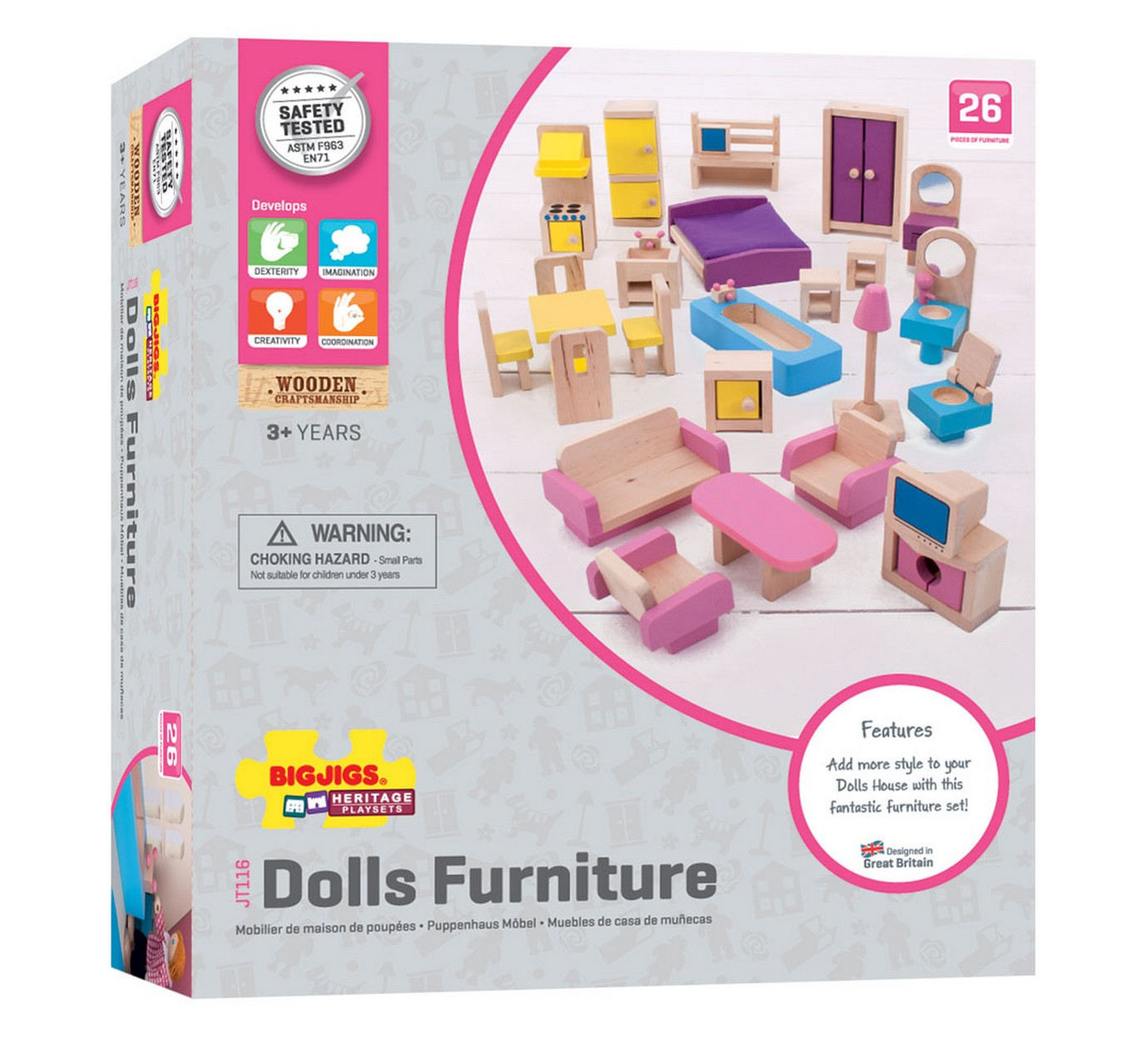 Dolls Furniture Set