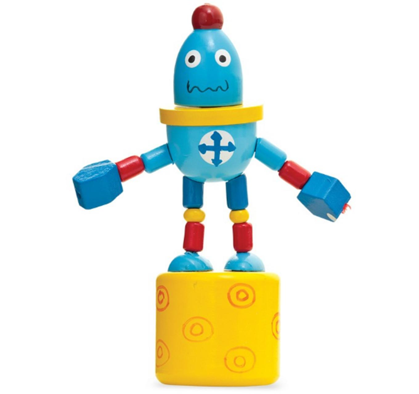 Push Up Robots 11.5cm - Each