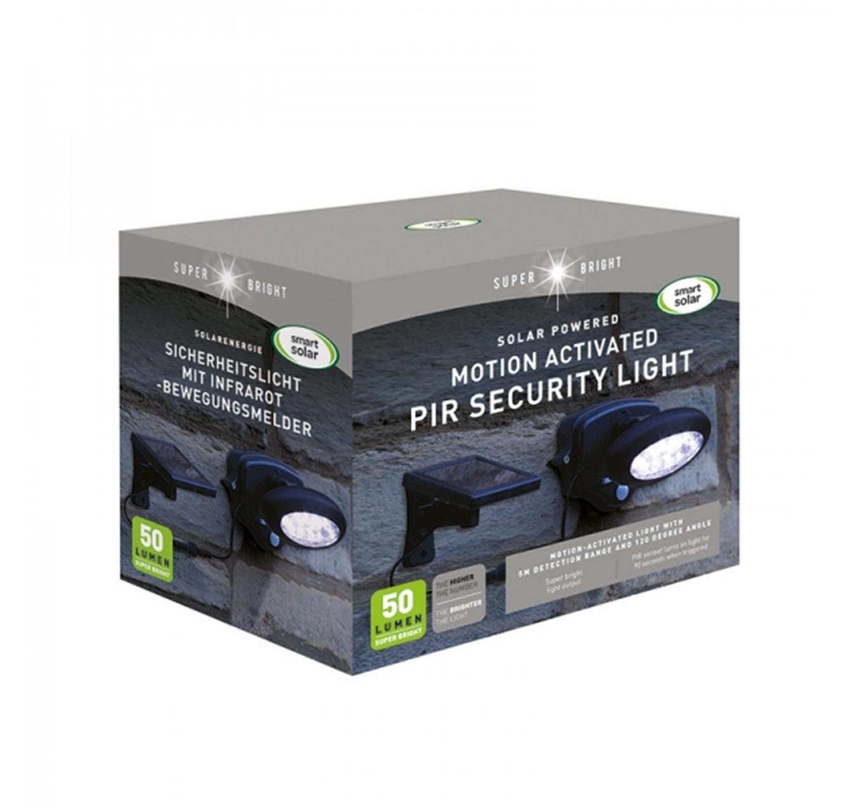 PIR Wall Spotlight - 50 Lumens