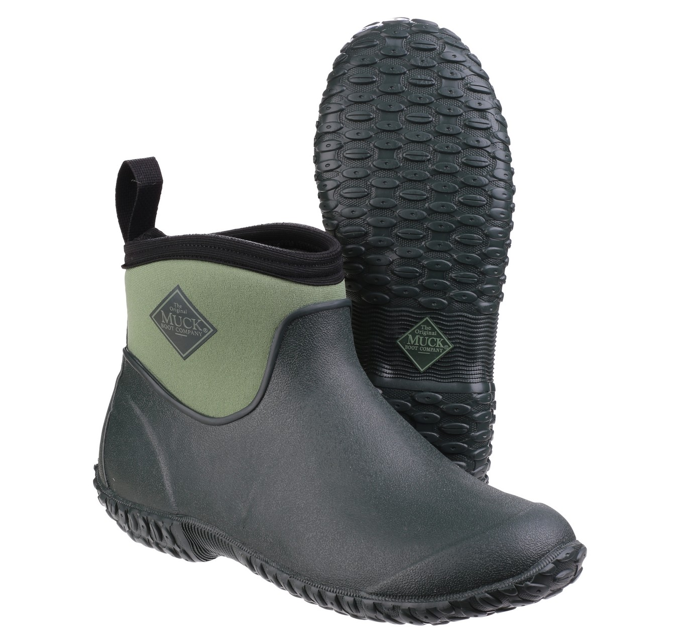 Muckster2 Ladies Ankle Green 4