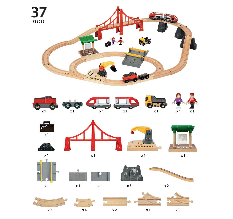 Large City & Cargo Set