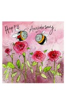 Anniversary - Bees & Roses