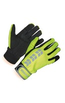 Hi-Viz Riding Gloves Yellow XS