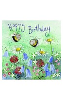 Bee Meadow Birthday Card