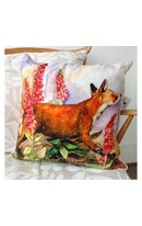 Fox & Foxgloves - Cushion
