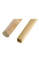 Square Tree Stake 40mm x 2.4m