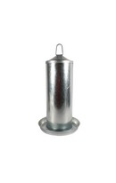 Galvanised Poultry Drinker 5L