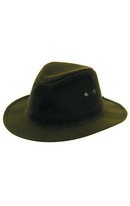 Indiana Waxed Hat Green S
