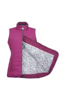 Derby Quilted Gilet Berry 12