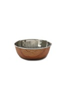 Wood Effect Pet Bowl 700ml