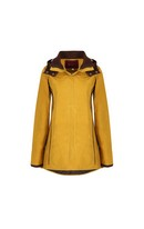 Harriet Wax Coat Cumin 10