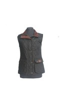 Camilla Gilet Black/Brown 12
